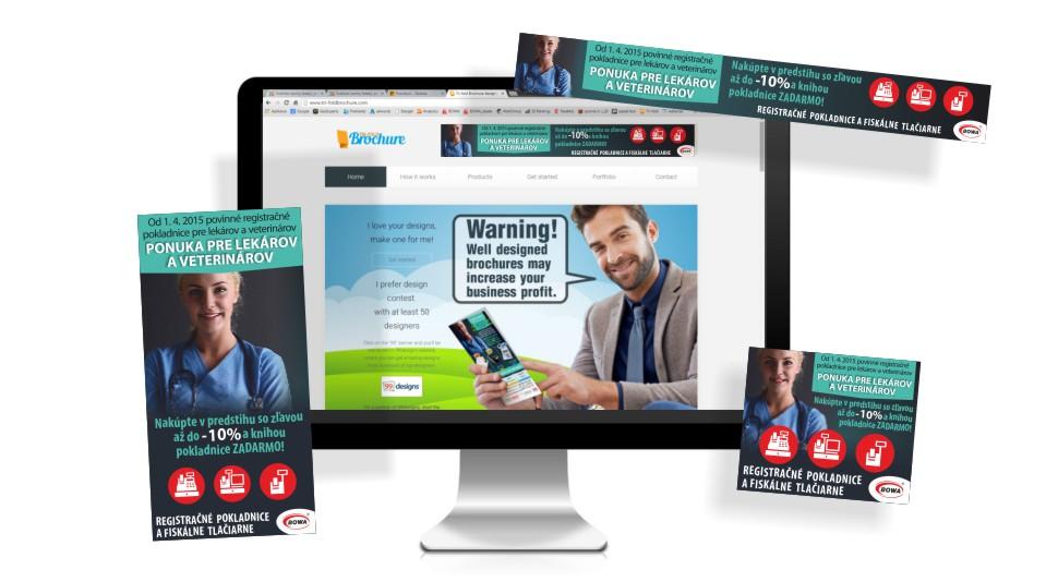 Reklama na internete. Návrhy bannerov